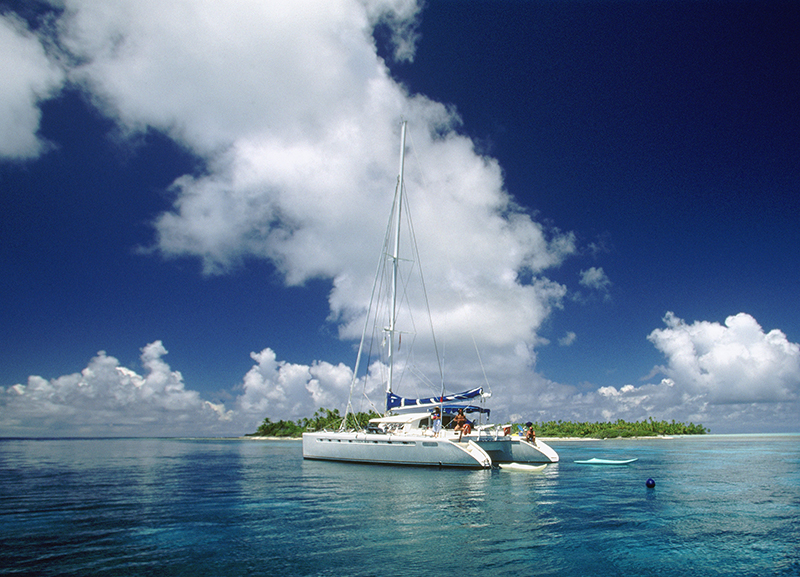 Cruise on a Catamaran French Polynesia