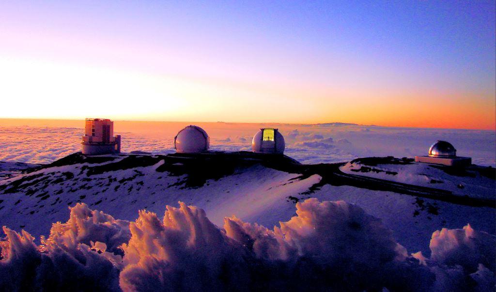 Mauna Kea observatory Hawaii