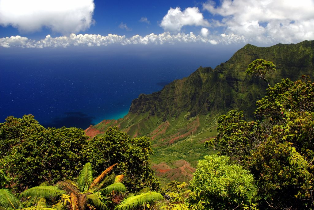 Napali Coast Hawaii view