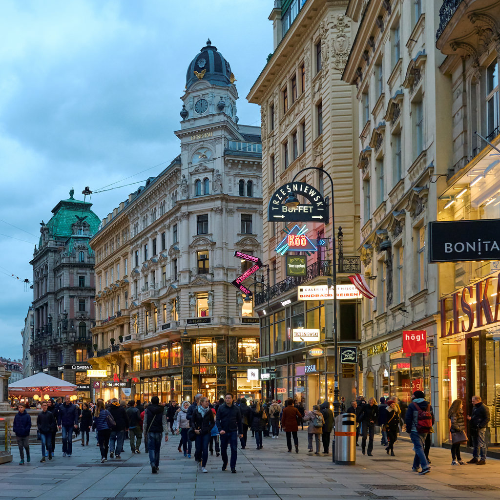 Vienna Austria Tourist Destinations