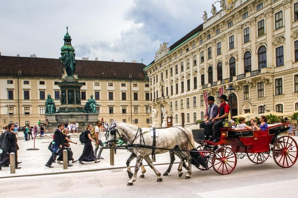 Vienna on horse