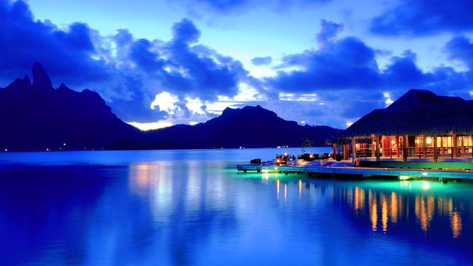 Bora Bora night
