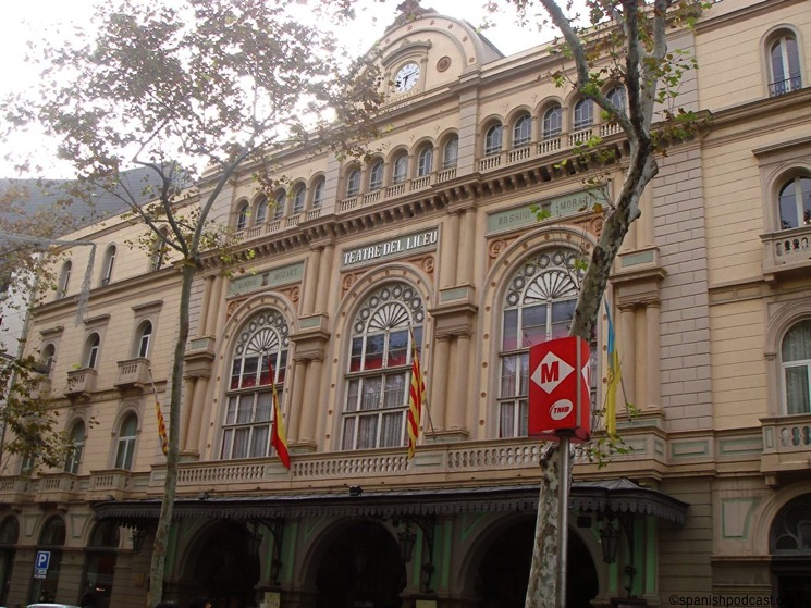 Gran Teatre del Liceu Barcelona Things to do