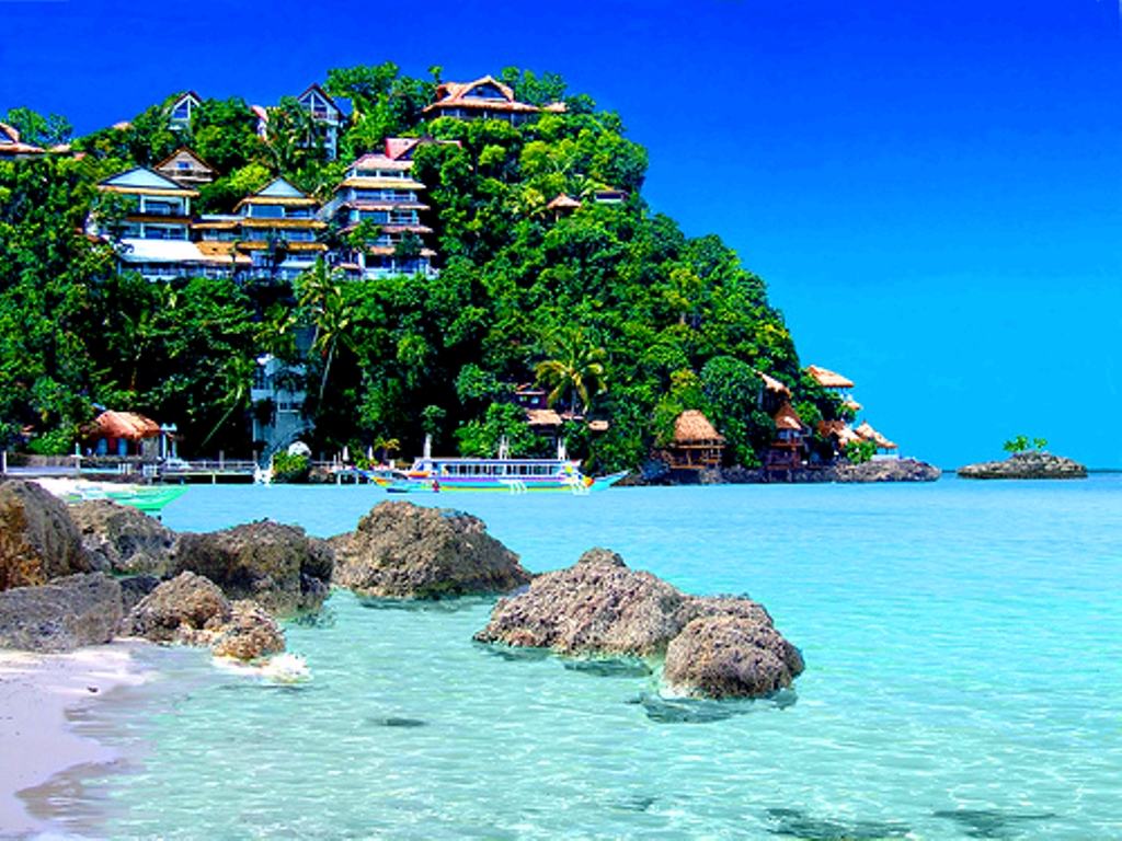 (Philippines) – Travel to beautiful island - Boracay 1