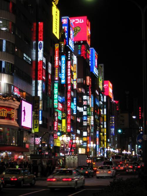 Shinjuku-neon_Tokyo
