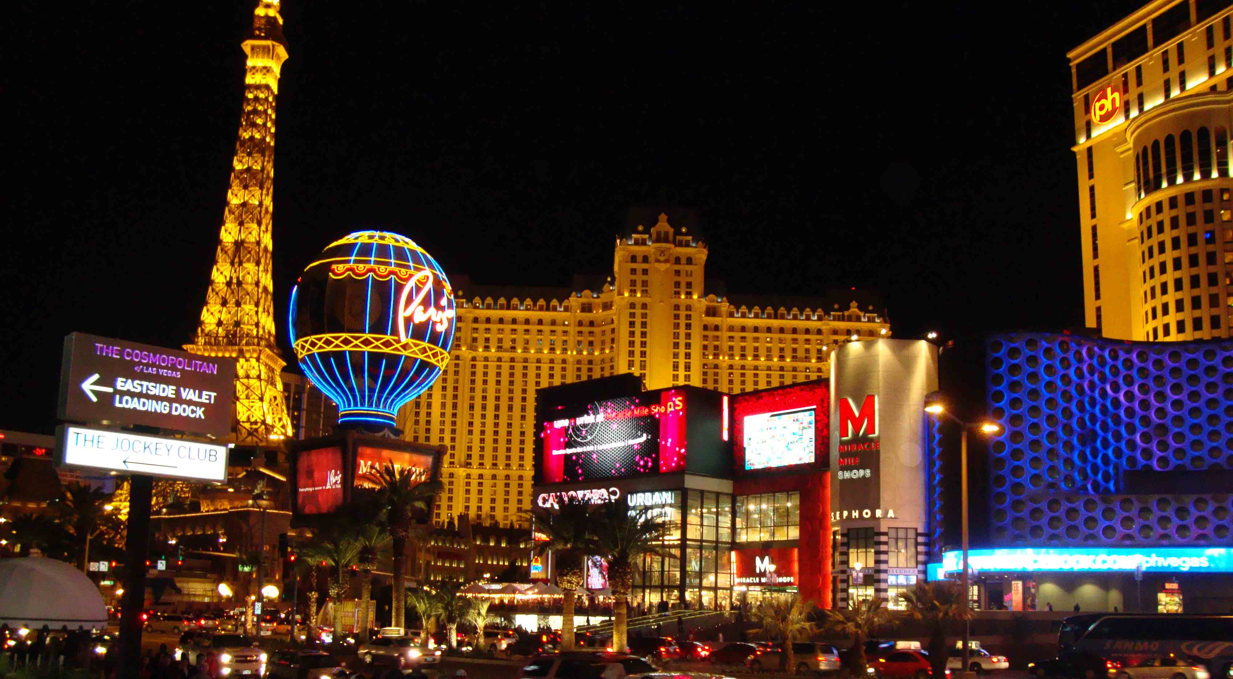 Las vegas attractions on the strip