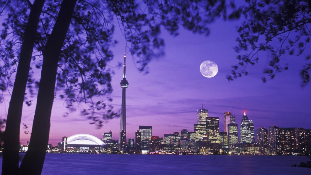 skyline-canada-toronto-night-scenery