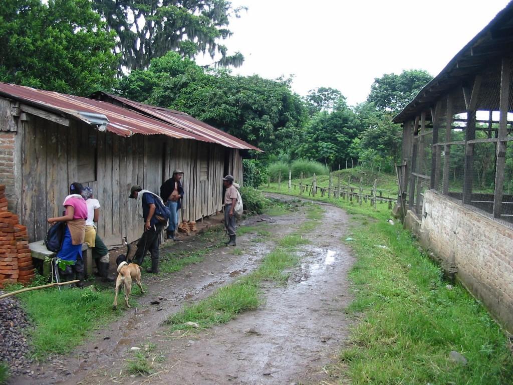 Nicaragua-village
