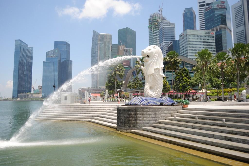 The-Singapore-Merlion