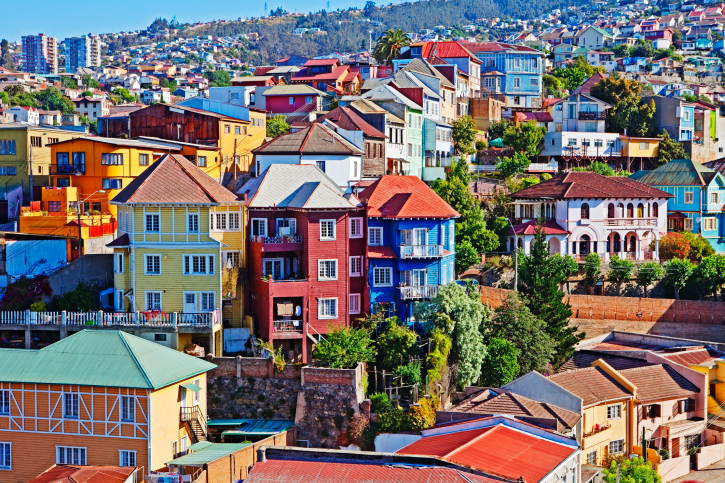 chile-colored-houses