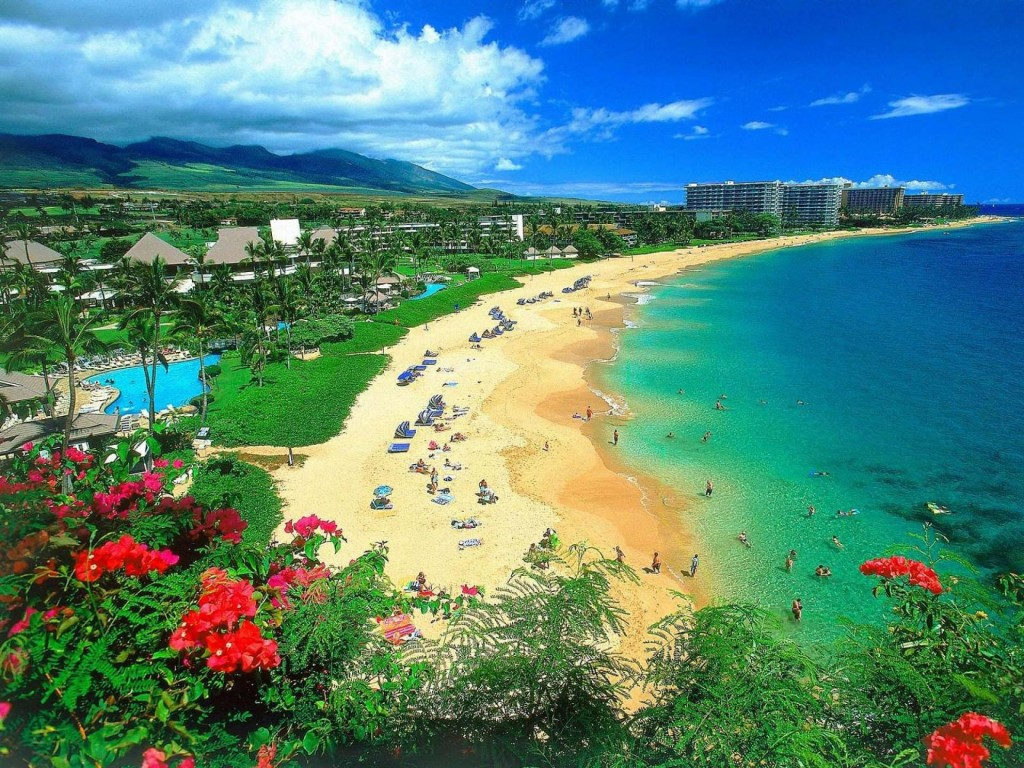 Kaanapali-Beach-Maui-Hawaii
