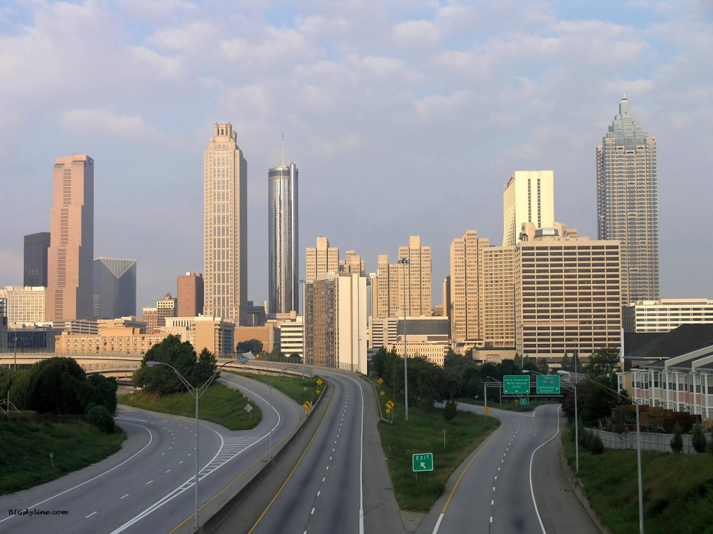 Atlanta Skyline Morning