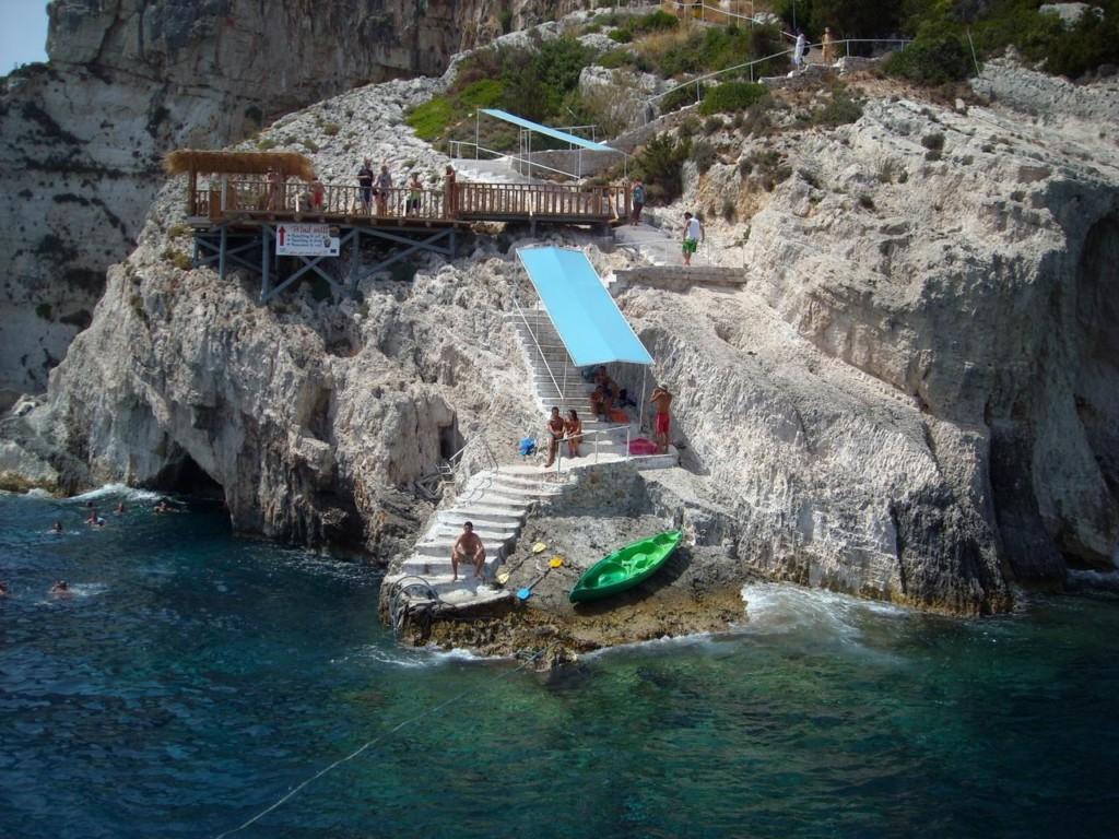 Zakynthos - Blue Caves Greece