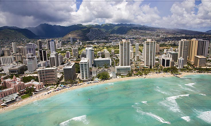 Waikiki Beach Hawaii Tourist Destinations