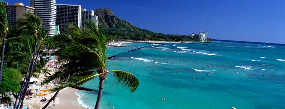 Waikiki Beach Hawaii Tourist Destinations