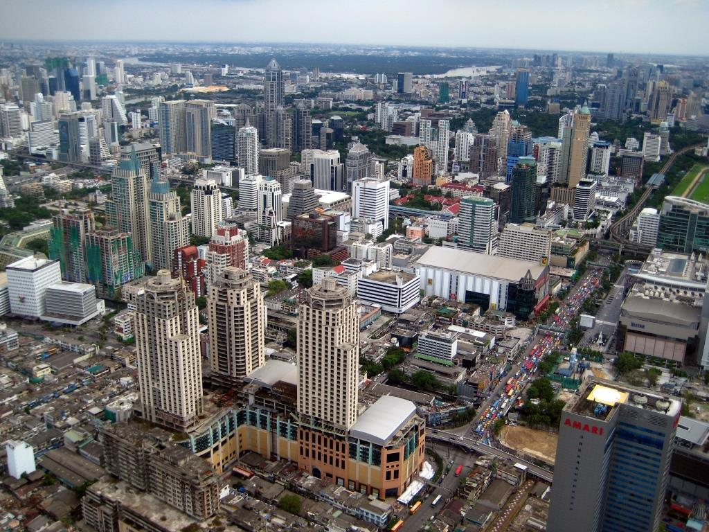 Bangkok from the sky