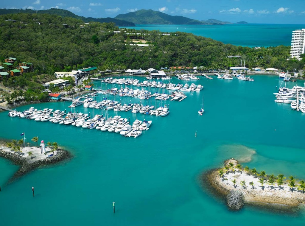 Marina Aerial Whitsundays