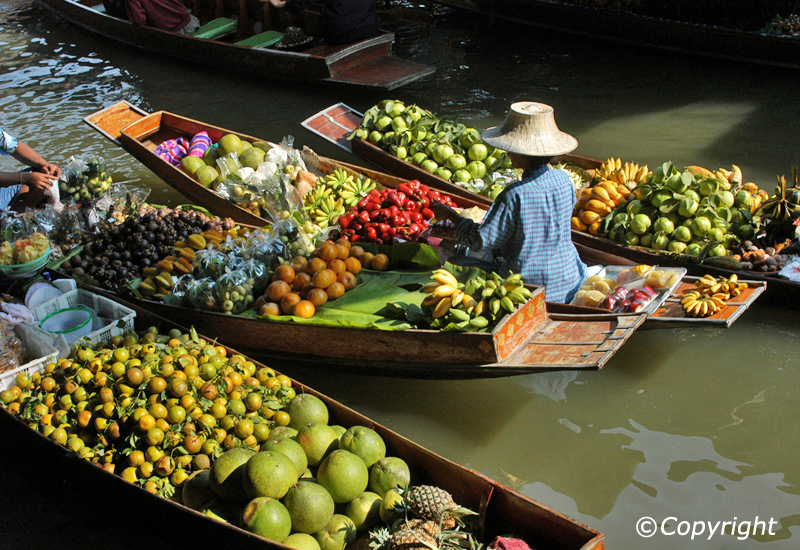 floating-market Bangkok