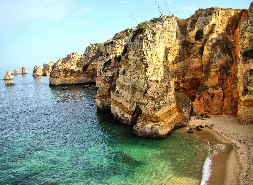Dona Ana Beach Lagos, Portugal Algarve