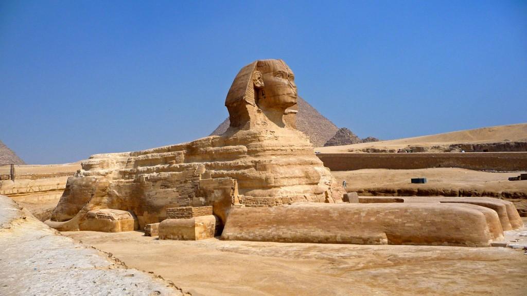 Sphinx-Giza, Egypt