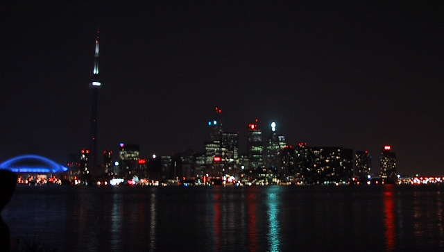 Toronto-Canada-skyline-night