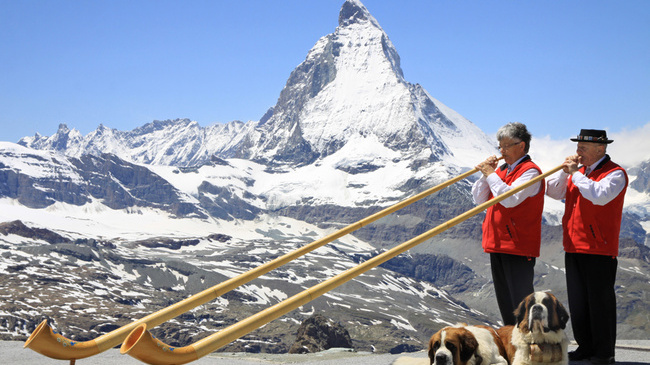 Zermatt, Switzerland folklore