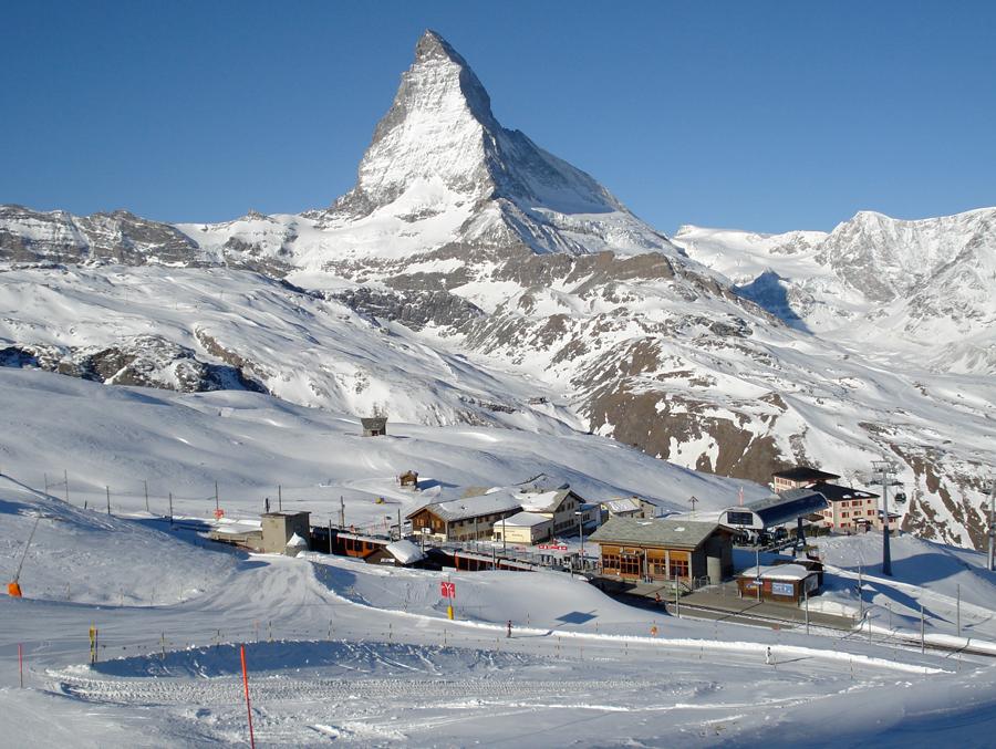 Zermatt, Switzerland ski