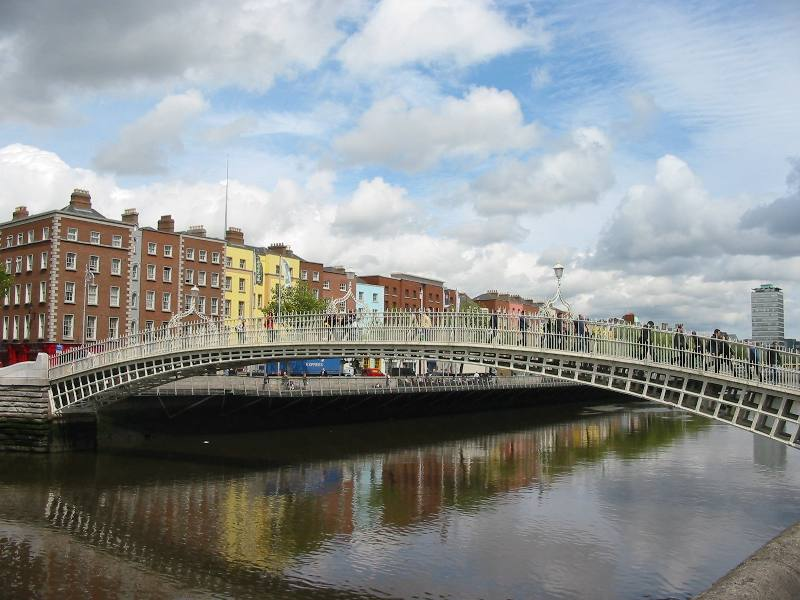 Liffey_River_In_Dublin