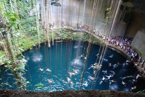 Chichen itza mexico tourist destinations Chichen itza mexico natural swimming pool