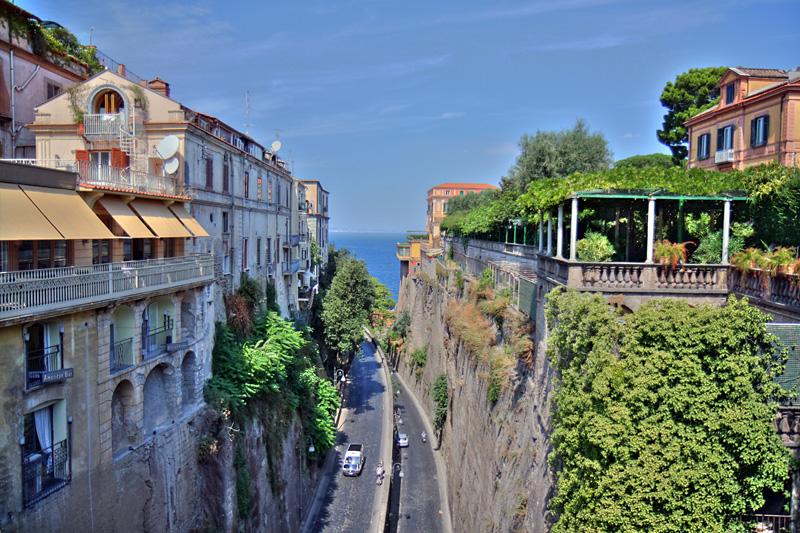 Sorrento-streets