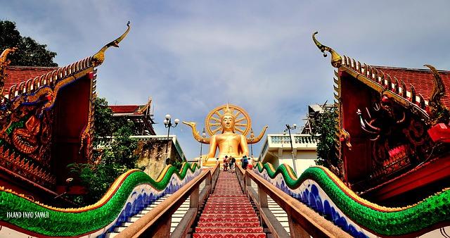 temples-Ko Samui-Thailand