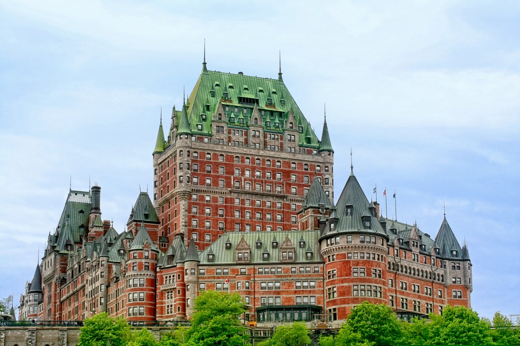 Chateau-Frontenac-Quebec, Canada