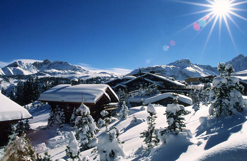 Courchevel-chalets