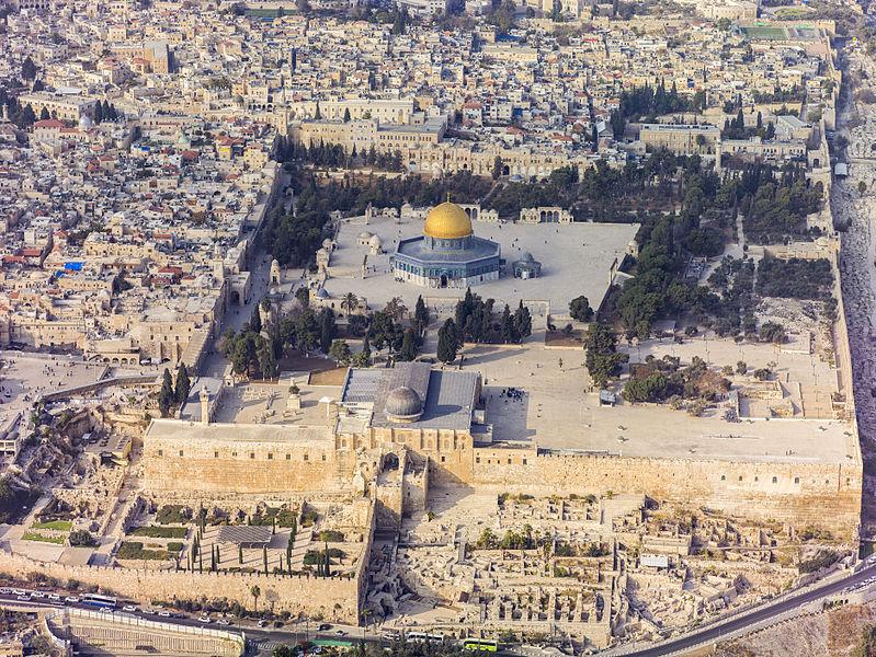 Israel-2013(2)-Aerial-Jerusalem-Temple_Mount-Temple_Mount_(s