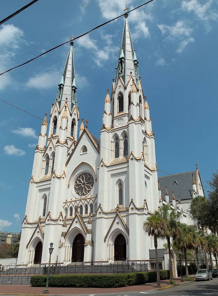 Its All About Will Of People Until It >> Cathedral of St. John the Baptist, Savannah, Georgia – Tourist Destinations