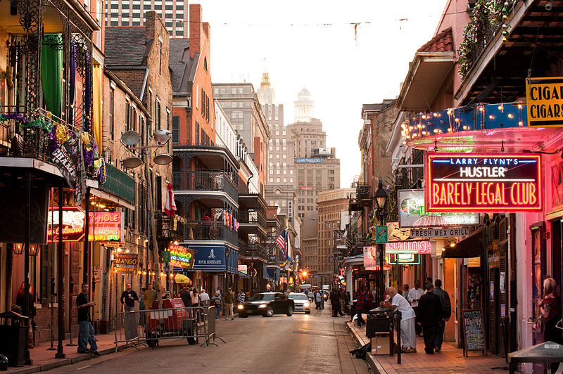 Bourbon-Street-New Orleans