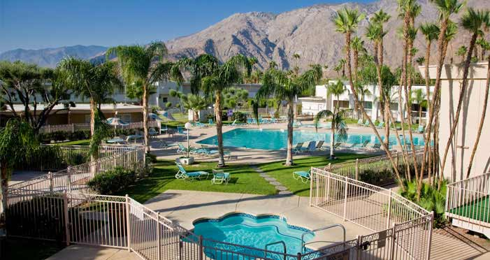 Palm Springs California Hotel Home Top