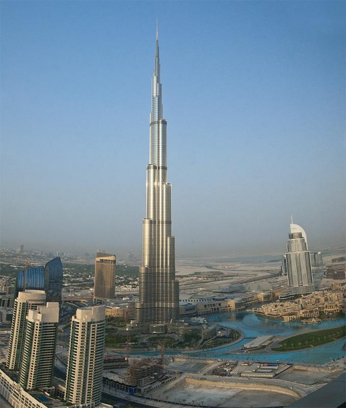 Fotos del Burj Khalifa.