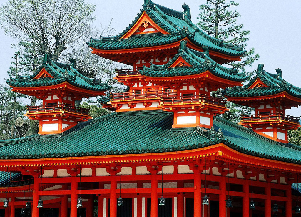 Heian_Shrine,_Kyoto,_+Japan
