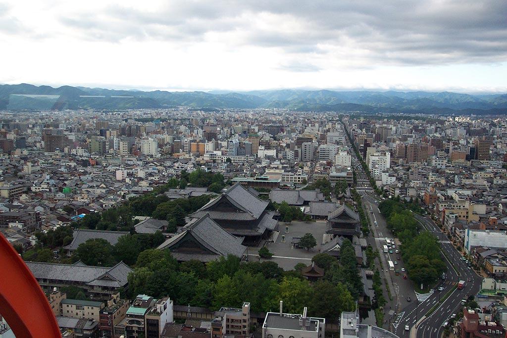 Kyoto-vista-dalla-torre