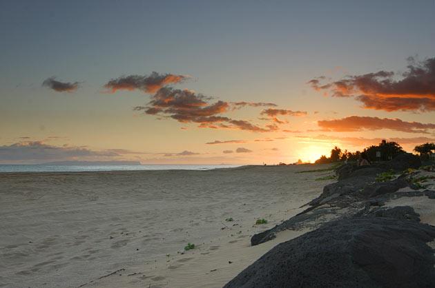 Kekaha_Beach_Sunset