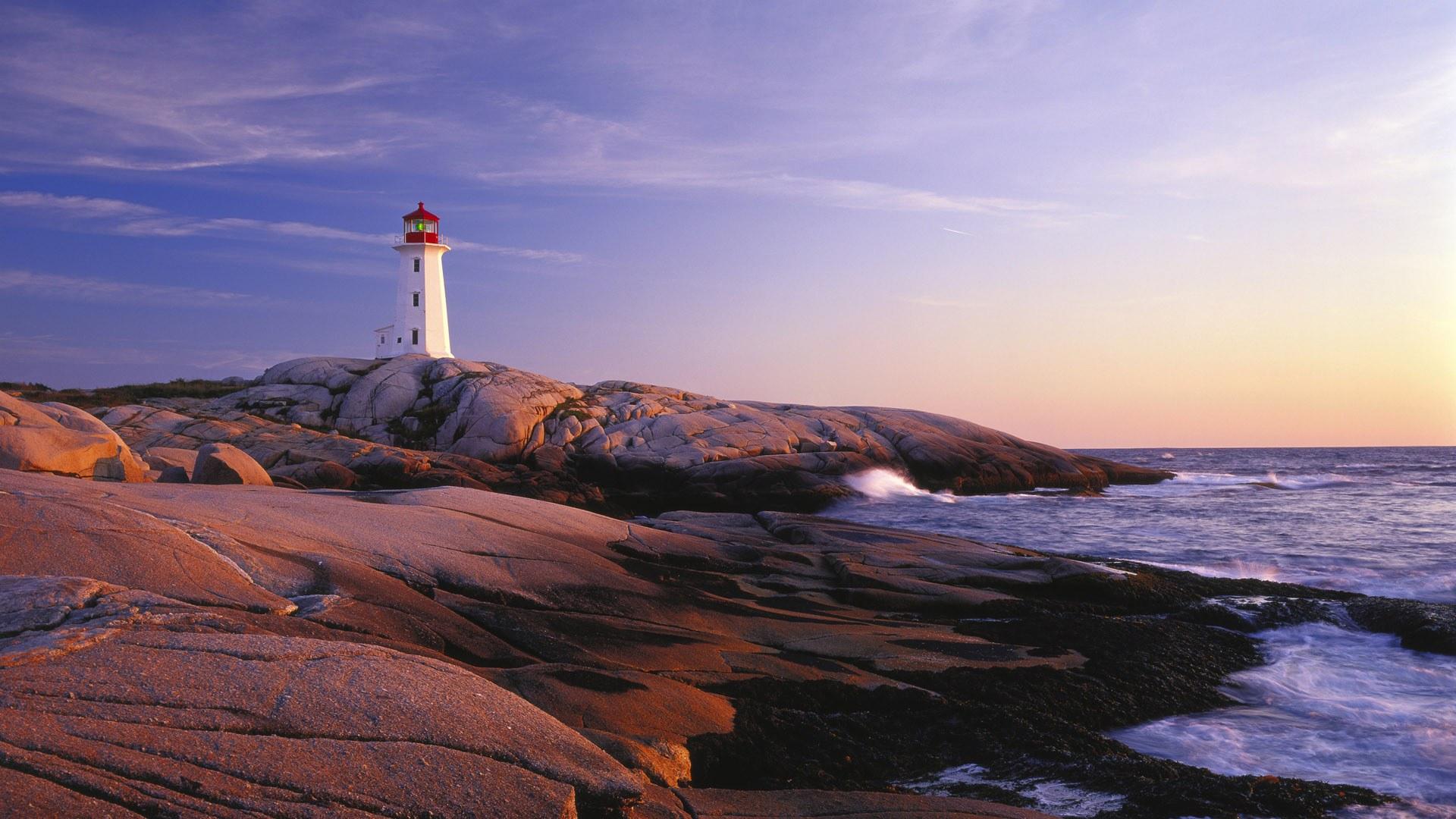 Peggys Point (Peggys Cove) Lighthouse , Nova Scotia Canada Lighthouses, Canada