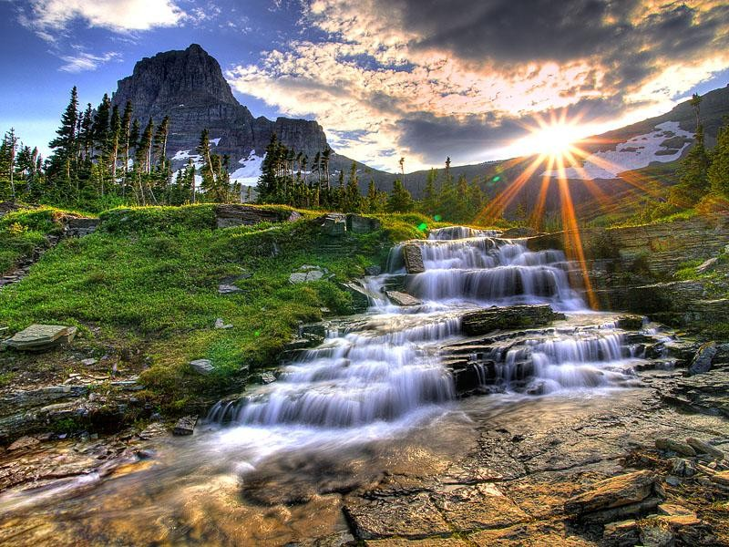 1Logan-Pass-at-Sunset-Glacier-National-Park-Montana