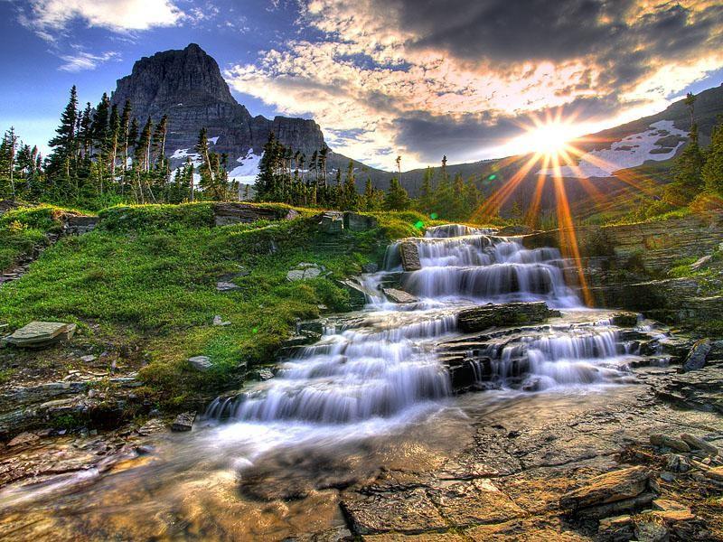 1Logan-Pass-at-Sunset-Glacier-National-Park-Montana