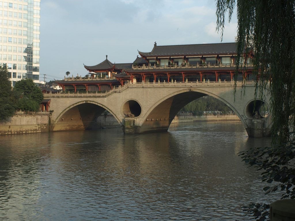 Bridge, City of Chengdu, Sichuan province, China