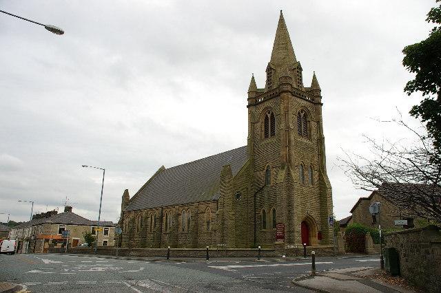 The Holy Trinity Ch Oswaldtwistle Lancashire
