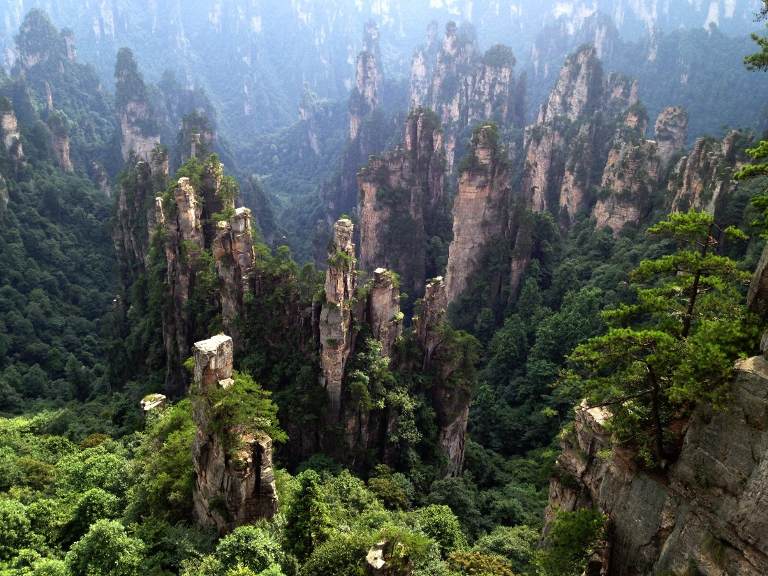 Zhangjiajie-National-Park-Hunan-China