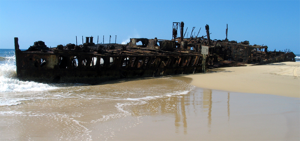 Fraser_Island_Schiffswrack