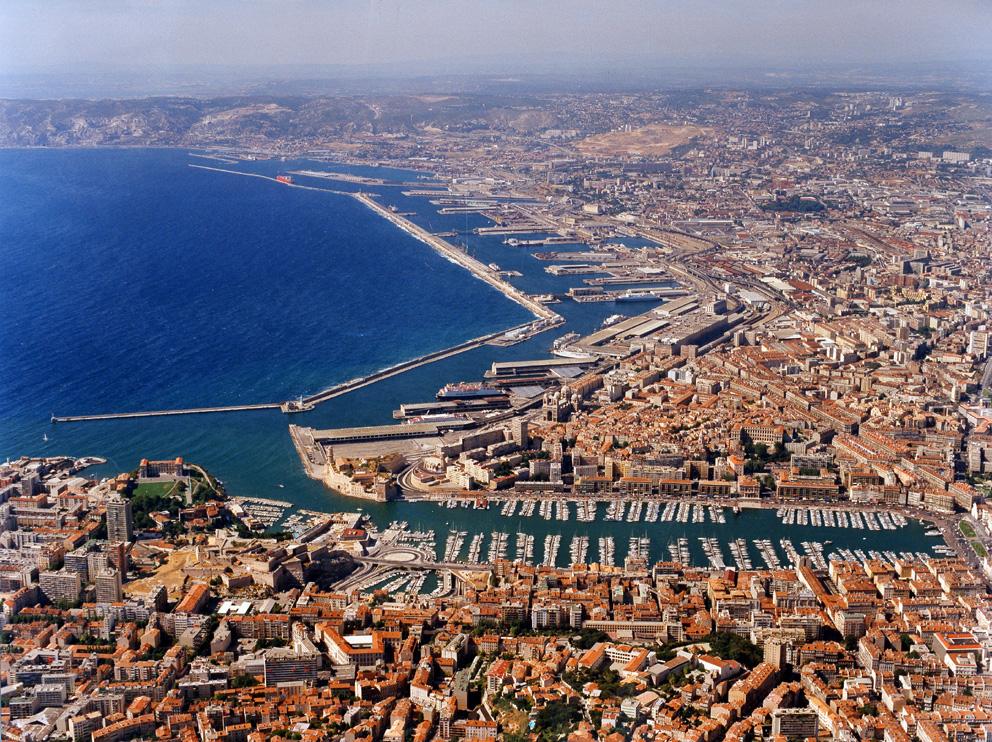 Marseille-aerial