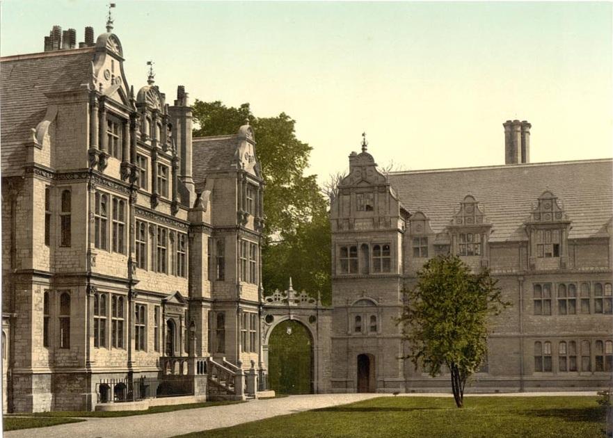 Trinity College Oxford England